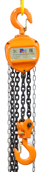 Таль ручная шестеренная стационарная ТРШС (РосТаль)